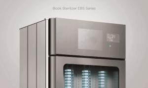 book steriliser for libraries model 301 open top