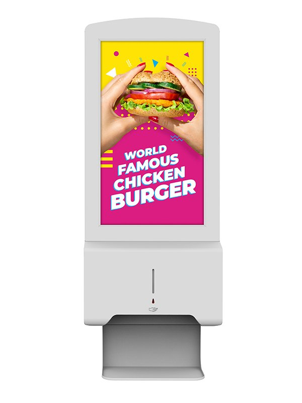 Hand-Sanitiser-Android-Advertising-Display